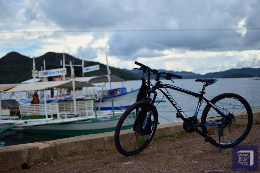 Biking in Coron Palawan