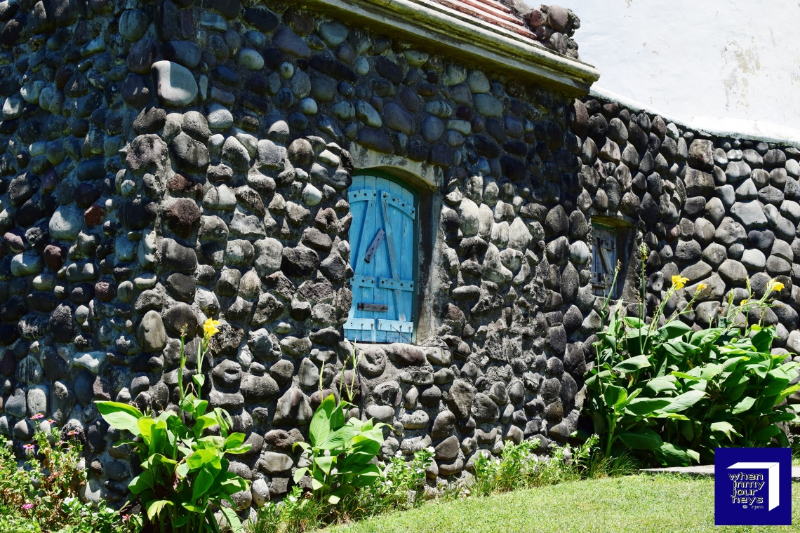 At the back of Basco Lighthouse Batanes