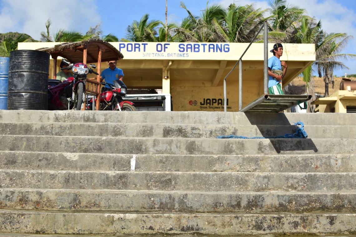 Port ofSabtang Batanes