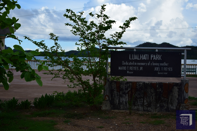 Welcome to Lualhati Park Coron