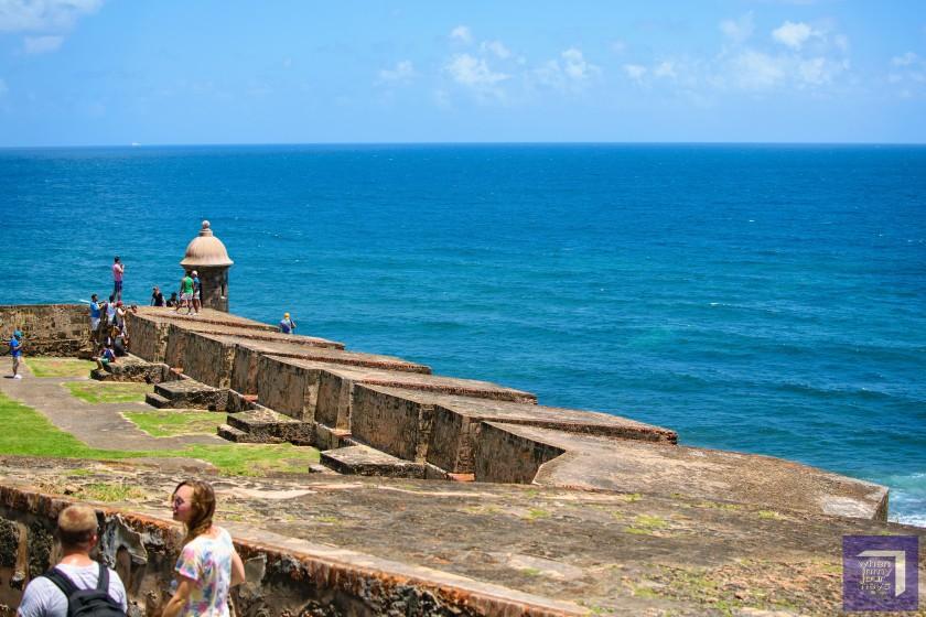 Walls of Castillo San Cristobal